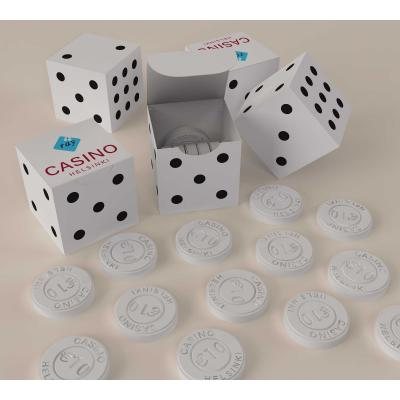 Image of Custom Shape Promotional Mint Cube