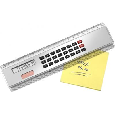 Image of 20cm Ruler with calculator