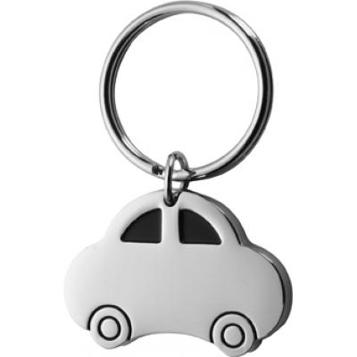 Image of Car shaped metal key holder