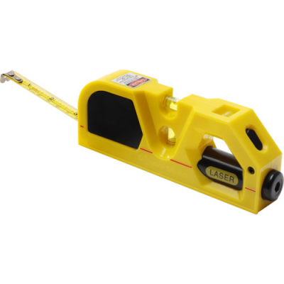 Image of Tape measure and laser, 2m