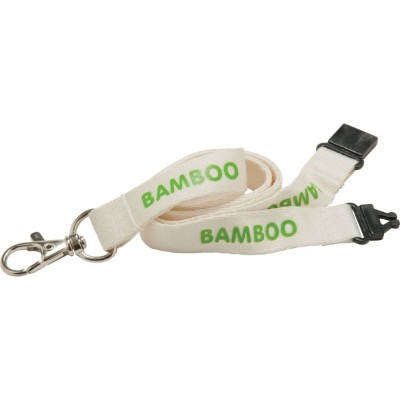 Image of 20mm Bamboo Lanyard - Natural Col