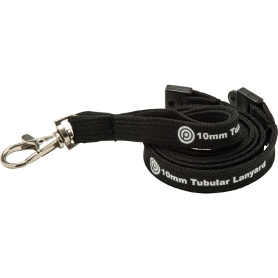 Image of 10mm Tubular Polyester Lanyard