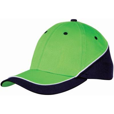 Image of 6 Panel New Edge Cap