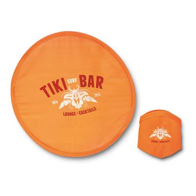 Image of Foldable Frisbee In Pouch