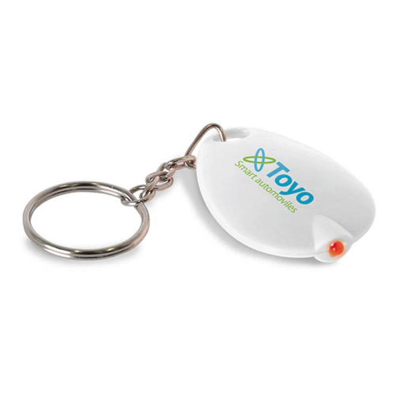 Image of Key Ring With Led Light