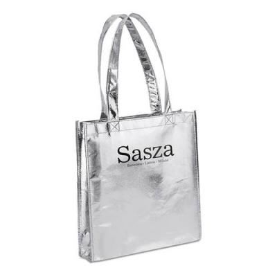 Image of Metallic Vertical Shopper