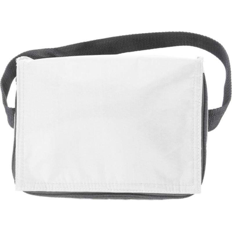 Image of Six can polyester cooler bag