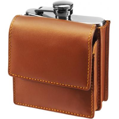 Image of 6oz Stainless steel hip flask