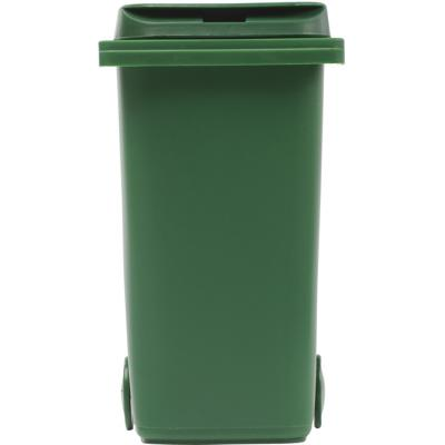 Image of Plastic desk trash bin