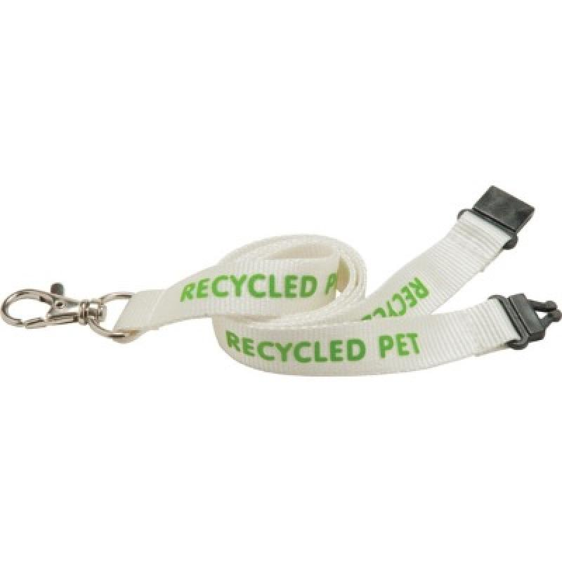 Image of 20mm PET Lanyard - Natural col