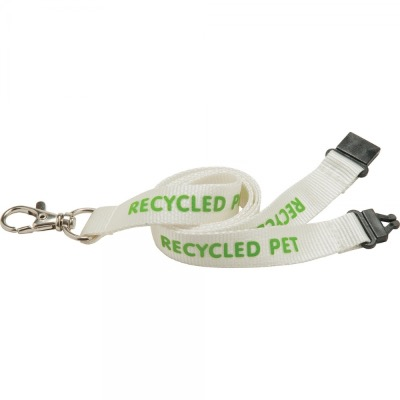Image of 10mm PET Lanyard - Natural col