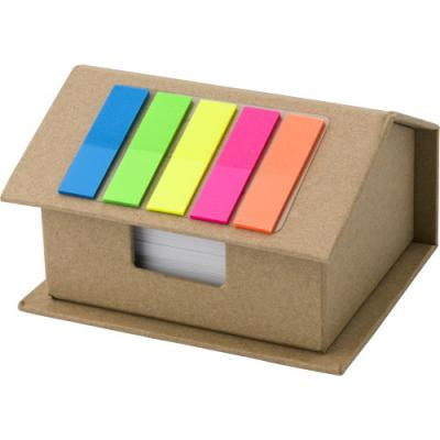 Image of House-shaped card memo holder