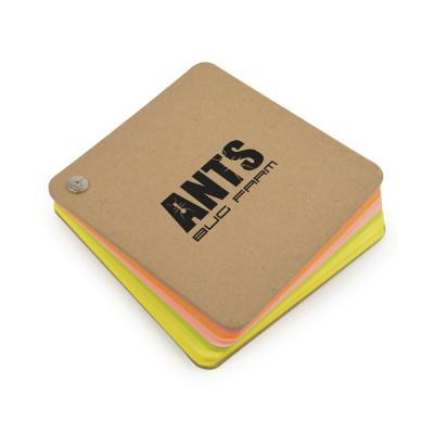 Image of Neon Notes Natural Twist Notepad