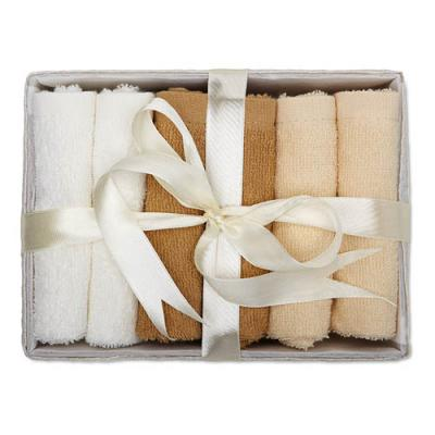 Image of 6 Hand Towels In Basket