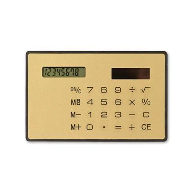 Image of Solar slim card calculator