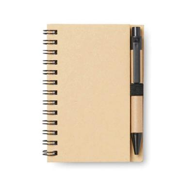 Image of A7 notebook 40 pages with pen