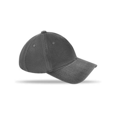 Image of 6 Panels Baseball Cap Washed