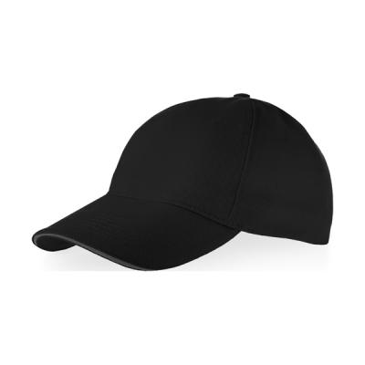 Image of Garnet 5-Panel Sandwich Cap