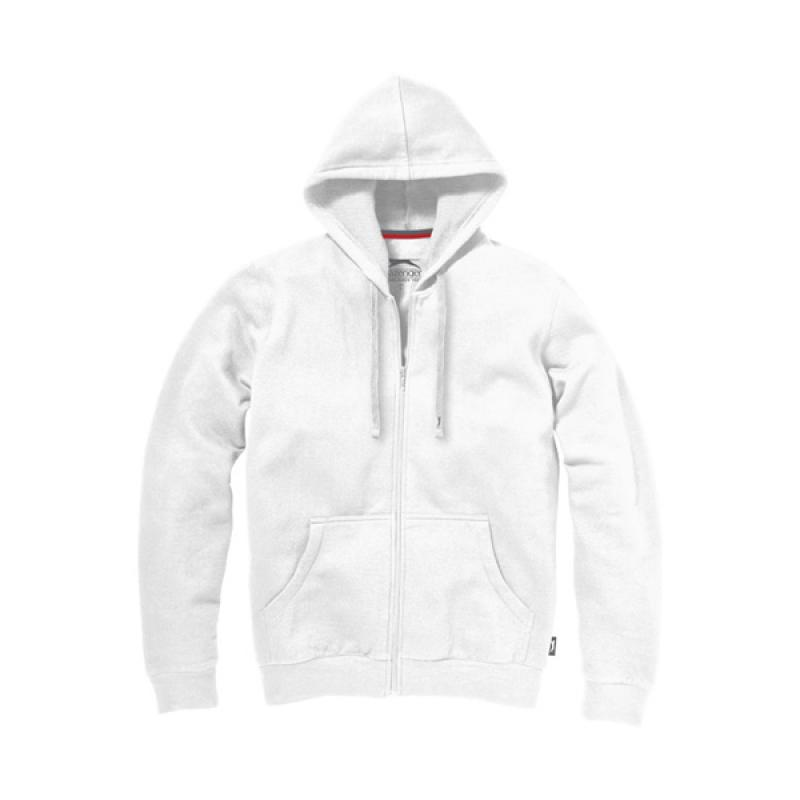 Image of Open Full Zip Hooded Sweater