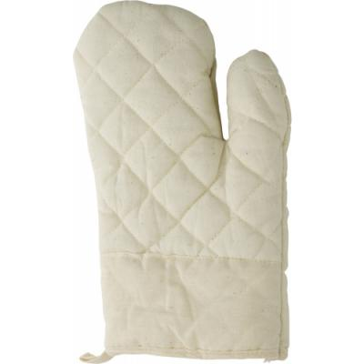 Image of Cotton oven mitten, single