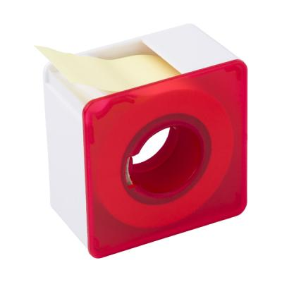 Image of Square plastic memo dispenser