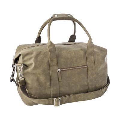 Image of Travel bag in a soft PU material