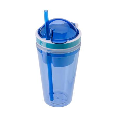 Image of 340ml Transparent coloured plastic mug