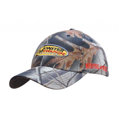 Image of Leaf Print Baseball Cap