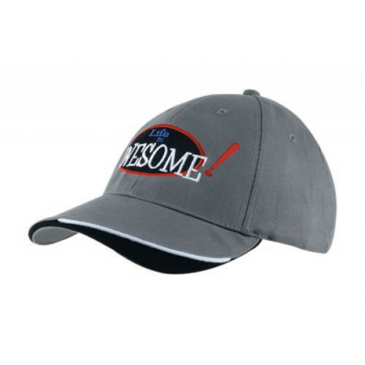 Image of Indented Peak Baseball Cap