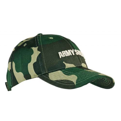 Image of Camo Twill Baseball Cap
