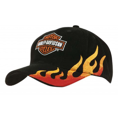 Image of Flame Embroidered Cap