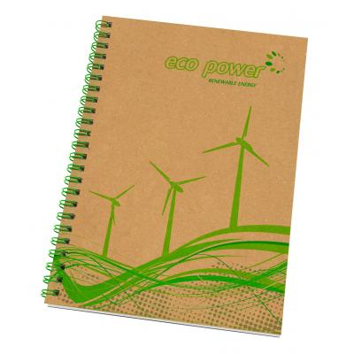 Image of Enviro Smart Natural Cover A5 Wiro Bound Pad