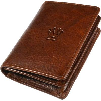 Image of Ashbourne Full Hide Leather Business Card Wallet