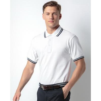 Image of Kustom Kit Men's Tipped Polo Shirt