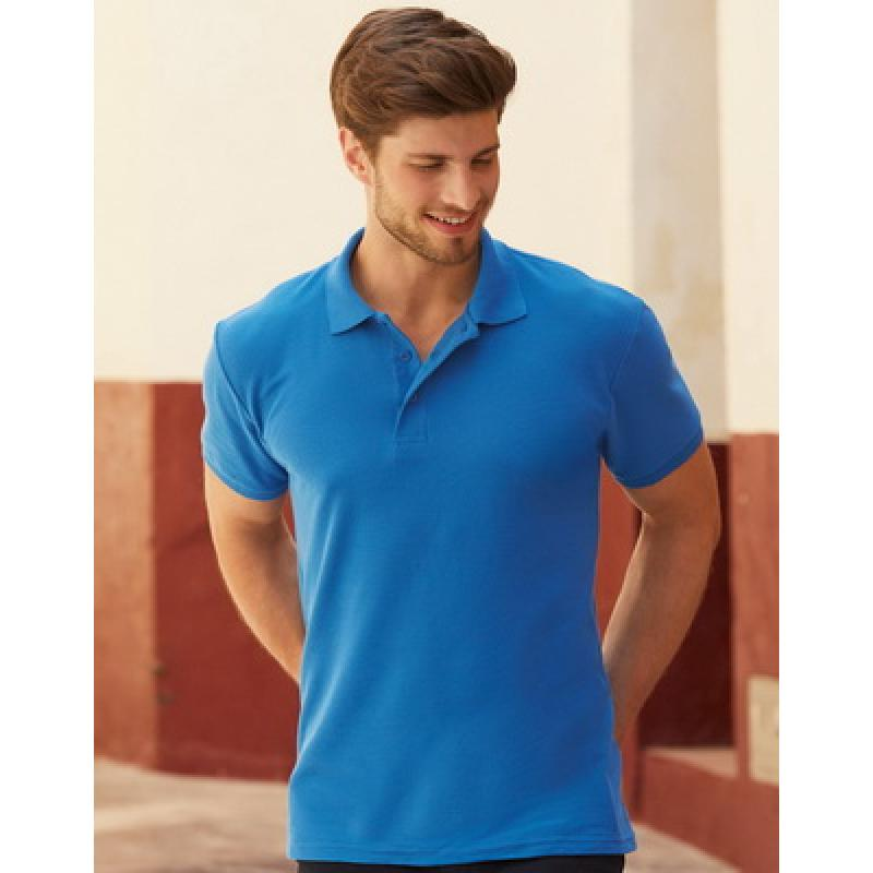 Image of Fruit of The Loom Heavyweight Pique Polo Shirt