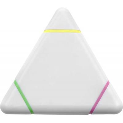 Image of Plastic triangular text marker
