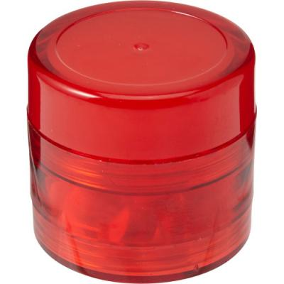 Image of Plastic screw lid pot with sugar free mints and lip balm