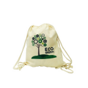 Image of 6oz Natural Cotton Double Drawstring Bag
