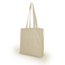 Image of 5oz Natural Cotton Shopper With Gusset