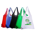 Image of Blue Polyester Foldable Bag In A Bag