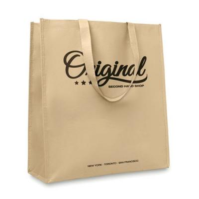 Image of Vertical Paper Woven Bag