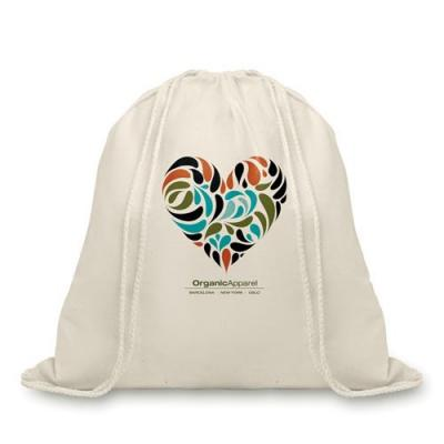Image of Organic Cotton Drawstring Bag