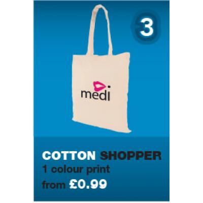 Image of 3. The Six in 6 Cotton Shopper Bag