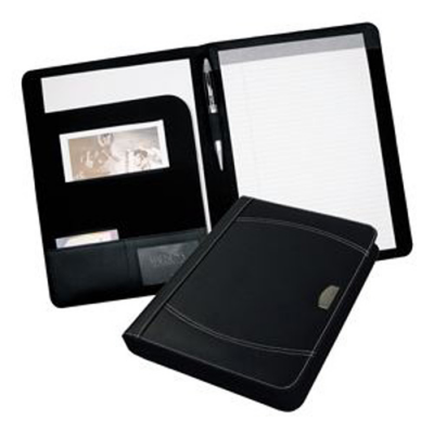 Image of Nero A4 Leather Conference Folder