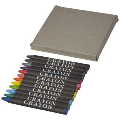 Image of 12-piece crayon set