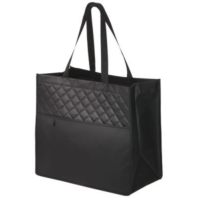 Image of Cross, Quilted Laminated Non-Woven Carry-All Tote