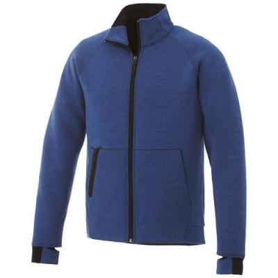 Image of Notch knit jacket