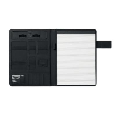 Image of A4 portfolio with power bank