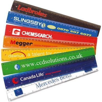 "Image of 30cm/12"" Solid Plastic Ruler"