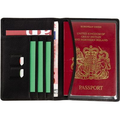 Image of Melbourne Full Hide Leather Passport Wallet